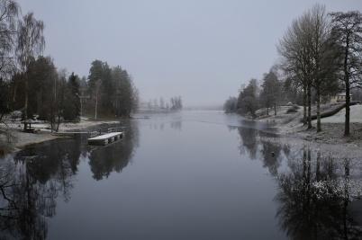 28 november 2018 - Töck började frysa till is.
