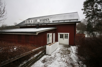 29 november 2018 - I Kvarnen pågick arbete med byggnation av butikslokal.