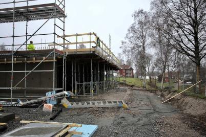 3 december 2018 - Och på Solängen byggde man hyreshus.