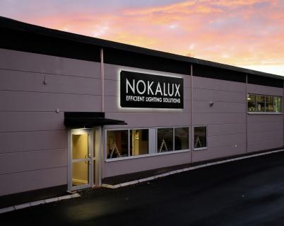 4 december 2018 - NOKALUX fabriken vid Bruserud stod klar efter en tids renovering.
