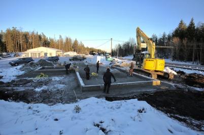 11 december 2018 - Vid gränsen byggde företaget LOGENT ett nytt kontor för tull- och logistiktjänster.