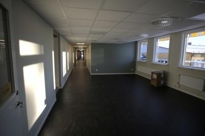 12 december 2018 - Skolpersonalens nya lokaler vid Töcksfors skola stod klara.