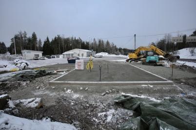 14 december 2018 - Och vid gränsen byggde företaget LOGENT nytt kontor.