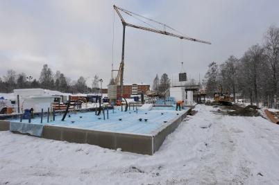 17 december 2018 - Och på Solängen byggde man hyreshus.