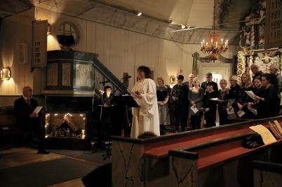 25 december 2018 - I Töcksmarks kyrka ordnades en stämningsfull Julotta.