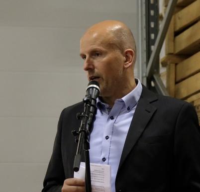Knut Skogstad, vd i Flexit.