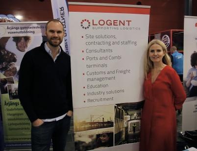 Företaget LOGENT Supporting Logistics bygger ett nytt kontor uppe vid Gränsen. Företaget arbetar bl a med tullservice för transportsektorn.
