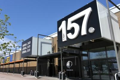 10 maj 2018 - Nya butiken Lager 157 i Töcksfors Handelspark öppnar 18 maj kl. 12.00.