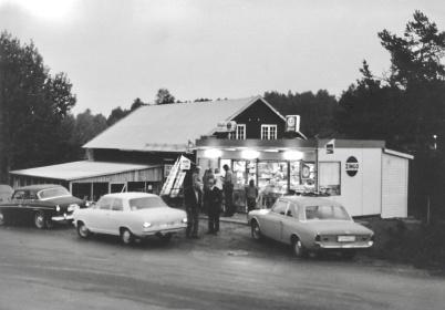 Centrumkiosken kiosk och gatukök - 1970-talet?