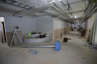 8 januari 2019 - Vid Töcksfors skola byggde man nya lokaler för mellanstadieskolan.