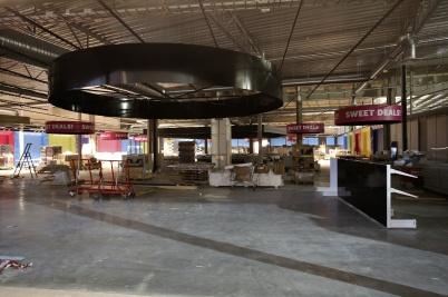 25 januari 2019 - Godishavet i nya shoppingcentet växte fram.