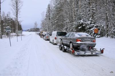 2 februari 2019 - Och fler norska racing-team kom till Torsviken och Töck, för att leka på isen och gäcka polisen.