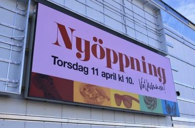 18 mars 2019 - Invigningen av nya Töcksfors shoppincenter närmade sig.
