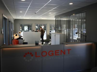 18 mars 2019 - Logent tog nya speditionskontoret i bruk.