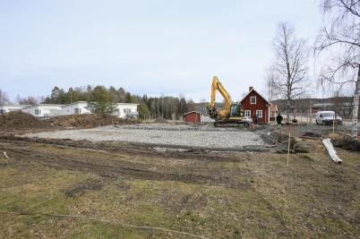 22 mars 2019 - Och vid Slussen lade man grunden till nya hyreshuset.