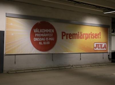 29 mars 2019 - JULA aviserade att premiärfesten var nära.
