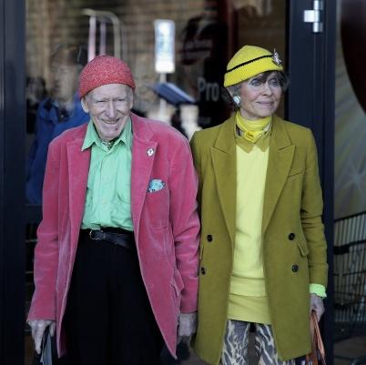 11 april 2019 - Olav Thon och Sissel Berdal Haga anlände till Töcksfors för att delta i invigningen av shoppingcentret.