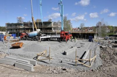 2 maj 2019 - På Solängen byggde man hyreshus.