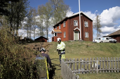 8 maj 2019 - Nordmarksstugan fick el indragen.
