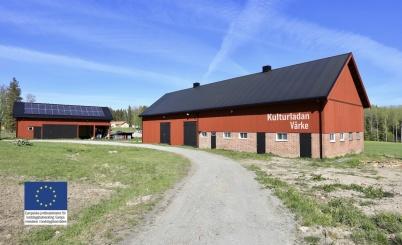 16 maj 2019 - Och så var yttre renoveringen av Kulturladan klar.