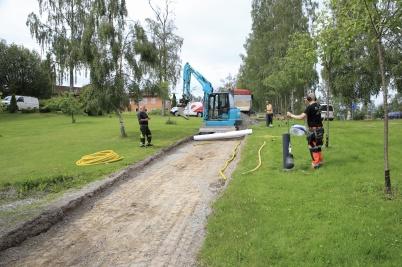 25 juni 2019 - Nerfarten till Kanalparken genomgick en makeover.