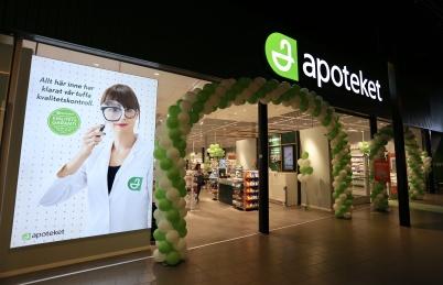 27 juni 2019 - Sveriges största gräns-handelsapotek öppnade i shopping-centret.