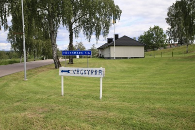 2 juli 2019 - Töcksmarks församling ordnade vägkyrka med kaffeservering och andakter i församlingshemet.