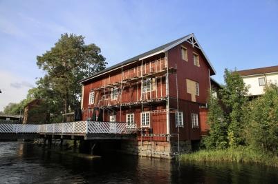 10 september 2019 - . . . liksom renoveringen av Kvarnen.