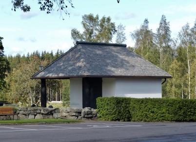 12 september 2019 - Renoveringen av kapellets tak var klart.