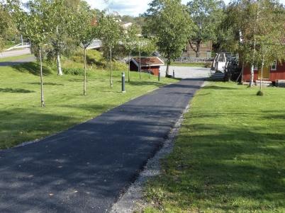 12 september 2019 - Nerfarten till Kanalparken blev asfalterad.