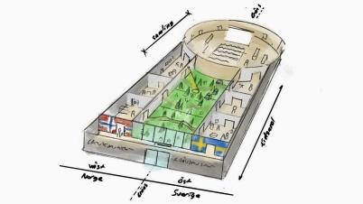 17 september 2019 - Och så spreds visionen om ett upplevelsecentrum i gamla konsumfastigheten vid torget.