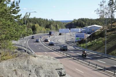 18 september 2019 - Vid gränsen rullade trafiken fritt igen på E18.