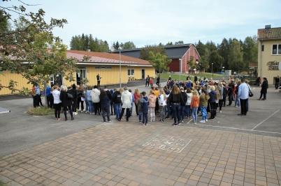 19 september 2019 - Så var det dags att inviga nya Mellanstadieskolan . . .