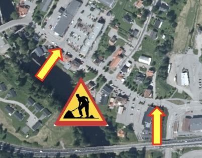26 september 2019 - Kommunen informerade om kommande arbete med läggning av ny vattenledning längs med Sveavägen.