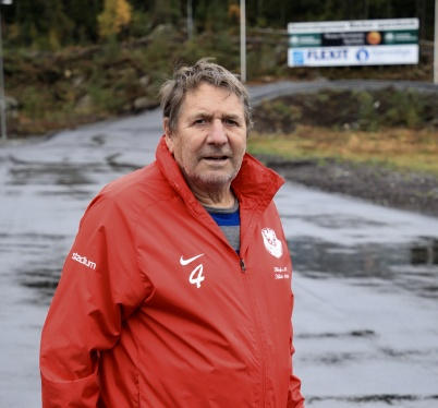 30 september 2019 - Thore Berglund kunde konstatera att nya rullskidbanan vid Kölen Sportcenter stod klar.