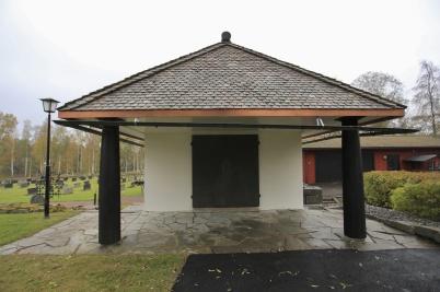 9 oktober 2019 - Renoveringen av kapellet var i det närmaste klar.