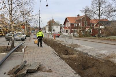 30 oktober 2019 - Roland Karlsson begrundar sitt förmodligen sista uppdrag som gatuchef i kommunen, innan han går i pension.