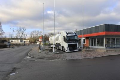 2 november 2019 - Och så fanns det chaufförer som tyckte det var lämpligt att långtidsparkera lastbilar i Töcksfors centrum.