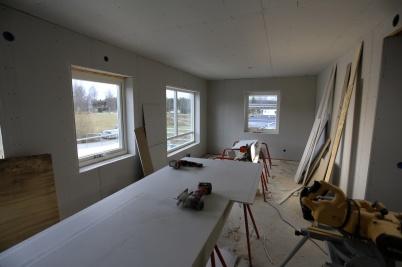7 november 2019 - Lägenheterna i nya hyreshuset vid Slussen började ta form.