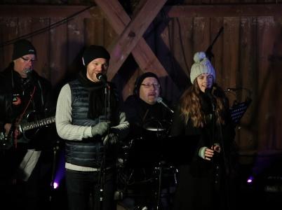 30 november 2019 - Första julkonserten i Kulturladan spelades för fullsatt lada.