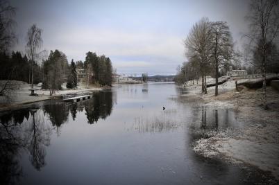 27 december 2019 - Vintern kom på en kort visit.