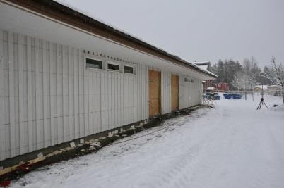 8 januari 2019 - Mellanstadieskolans nya entré.