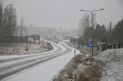 5 januari 2020 - Vintern kom på tillfälligt besök.