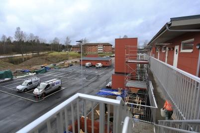 7 januari 2020 - Nya hyreshusen på Solängen färdigställdes.
