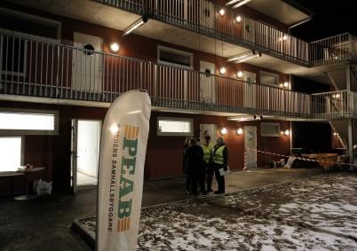 6 februari 2020 - Och så var det lägenhetsvisning  på Solängen.