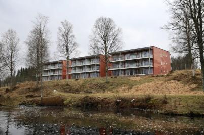 8 februari 2020 - Nya lägenheterna på Solängen var nästan klara för inflyttning.
