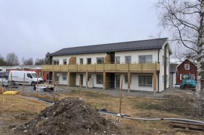 10 februari 2020 - Nya hyreshuset vid slussen färdigställdes utvändigt . . .