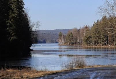 19 februari 2020 - Sjön Töck var isfri.