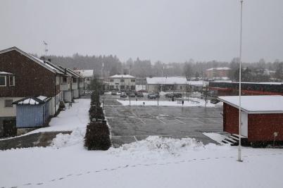 1 mars 2020 - Och så kom vintern  på återbesök.