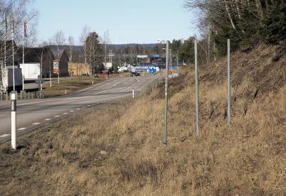 14 mars 2020 - Och så blev Töcksfors-skylten vid östra infarten återigen stulen.